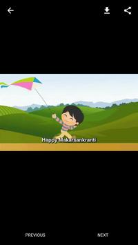 Happy Makar Sankranti GIF screenshot 3