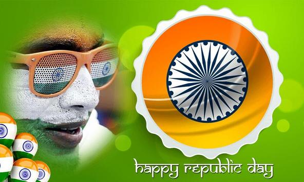 Republic Day Photo Frame poster