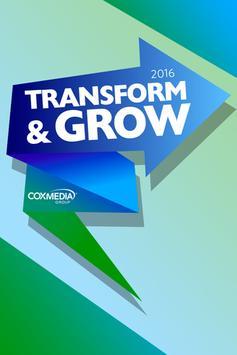 CMG 2016 Transform & Grow poster
