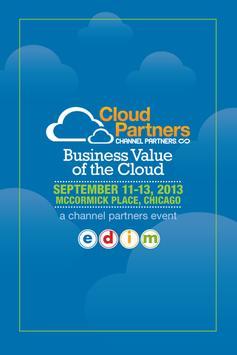 Cloud Partners '13 poster