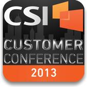 CSI Customer Conference 2013 icon