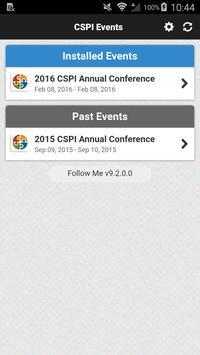 CSPI Events screenshot 1