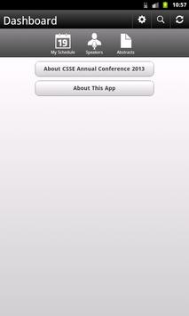 CSSE Annual Conference 2013 apk screenshot