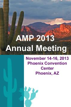 AMP 2013 Annual Meeting poster