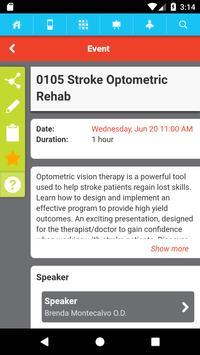 Optometry's Meeting apk screenshot