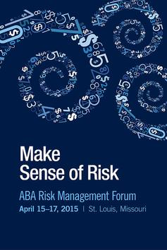 2015 ABA Risk Management Forum poster