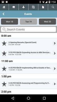 ABAI 2016 Autism Conference apk screenshot