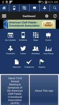 ACPA 2015 apk screenshot