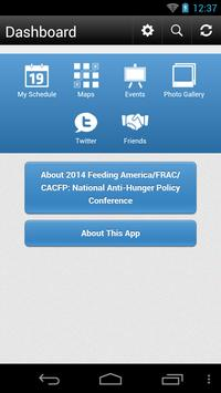 Feeding America/FRAC/CACFP '14 apk screenshot