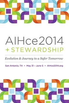 AIHce 2014 poster