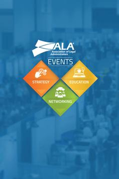 ALA Events poster