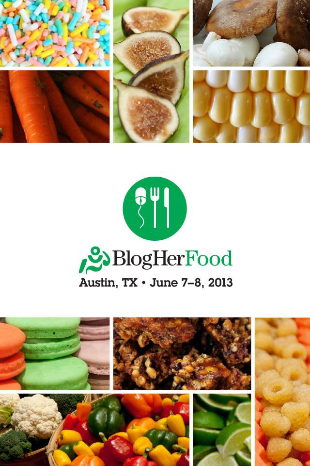BlogHer Food '13 poster