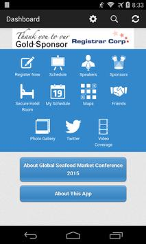 Global Seafood Market Con 2015 screenshot 1