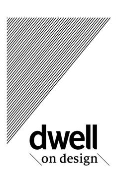 Dwell on Design poster