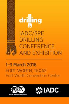 IADC/SPE Drilling Conference poster