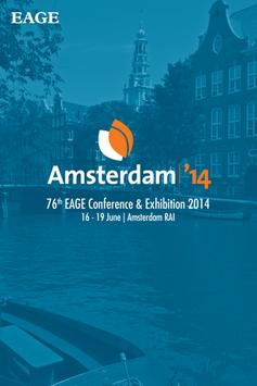 EAGE Amsterdam 2014 poster