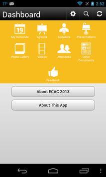 ECAC 2013 apk screenshot