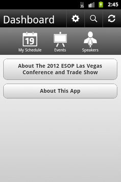 2012 ESOP Las Vegas Conference poster