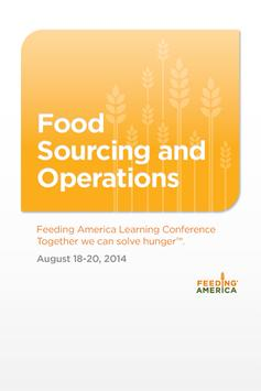 Food Sourcing & Operations '14 poster