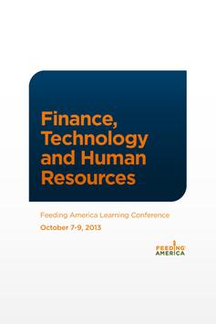 Finance, Technology, and HR 13 poster
