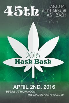 Hash Bash 2016 poster