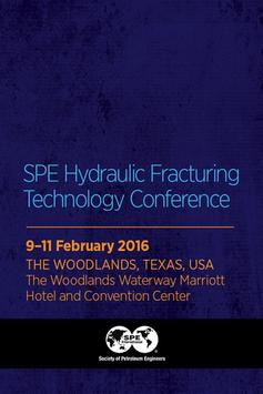 SPE Hydraulic Fracturing 2016 poster