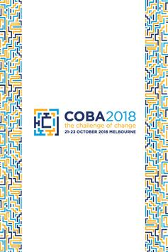 COBA 2018 poster