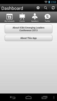 ICBA Leaders Conference 2013 poster