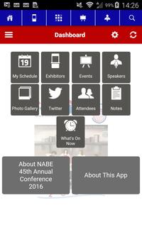 NABE 2016 Annual Conference apk screenshot