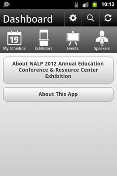 NALP 2012 Annual Conference poster