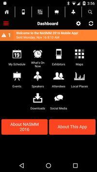 NASMM 2016 screenshot 1