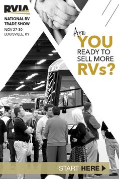2017 National RV Trade Show poster