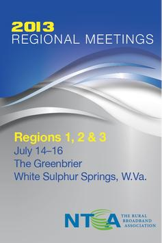 NTCA Regions 1, 2, & 3 Meeting poster