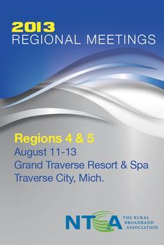 NTCA Regions 4 & 5 Meeting poster