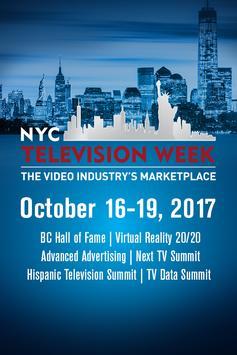 NYC TV Week poster