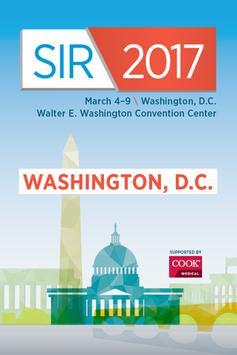 SIR 2017 poster