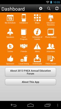 PAEA Annual Education Forum'13 apk screenshot