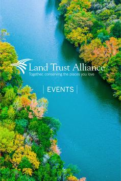 Land Trust Alliance Events poster