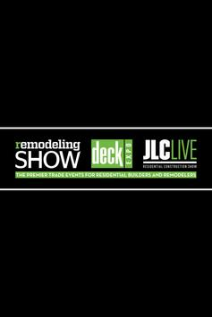 Remodeling Show & DeckExpo poster
