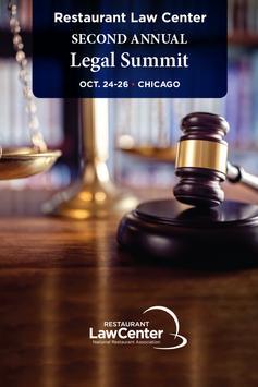 Restaurant Legal Summit poster