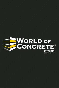 World of Concrete poster