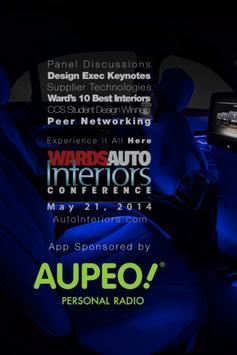 WardsAuto Interiors Con 2014 poster