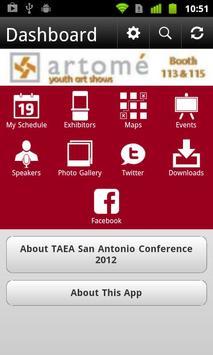TAEA San Antonio Con 2012 apk screenshot