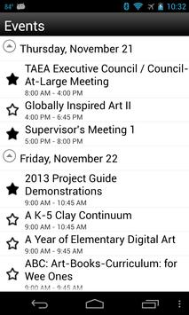 2013 TAEA Conference apk screenshot
