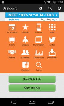 TCCA 2014 apk screenshot