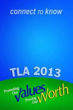 TLA 2013 poster
