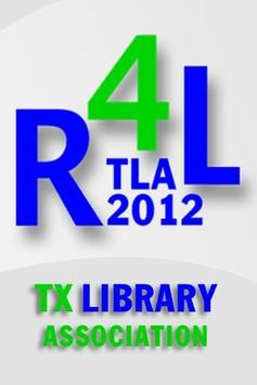 2012 Texas Library Association poster