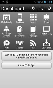 2012 Texas Library Association screenshot 1