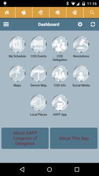 AAFP Congress of Delegates 15 apk screenshot