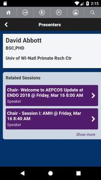 Endocrine Society Meetings screenshot 3